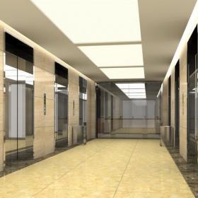 写字楼室内电梯间效果图欣赏效果图