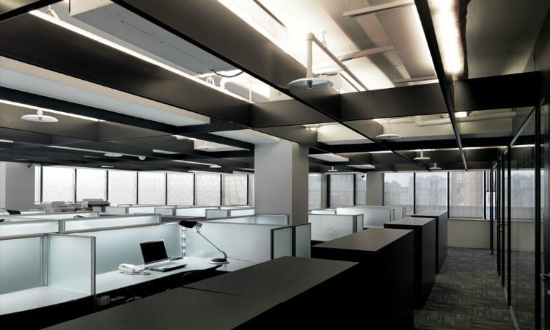 寫字樓辦公室樣板房效果圖