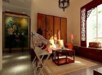 新中式风格客厅榻榻米地台装修图片新中式风格地柜图片效果图大全