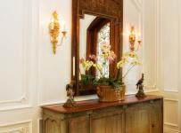 欧式风格卧室复式公寓原木色家居10平卧室装修地台设计图纸