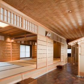 家装日式榻榻米地台设计装修效果图