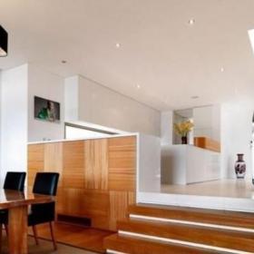 复式楼地台实木家具效果图片