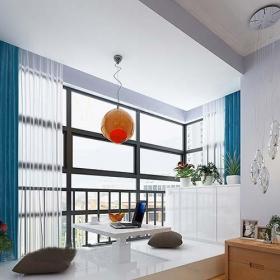 客厅卧室室内地台设计装修图片效果图