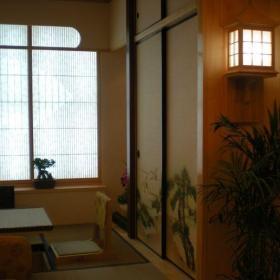 客厅阳台地台榻榻米效果图欣赏