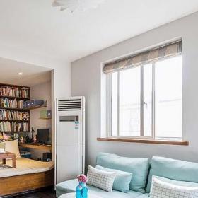 客厅卧室室内地台设计布置图片效果图