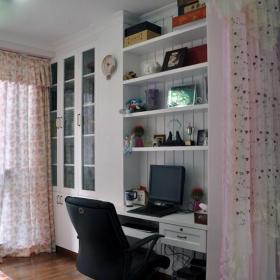 家装书房榻榻米地台装修效果图片效果图