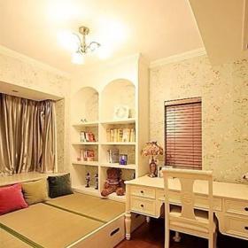 客厅卧室室内地台设计实景图片效果图