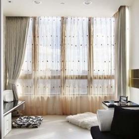 客厅卧室室内地台设计平面图效果图
