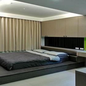 家装地台床装修效果图