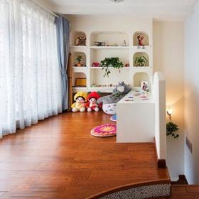 现代简约卧室地台_性质氛围地台卧室