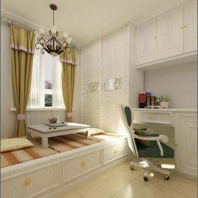 地台榻榻米房屋室内设计装修效果图