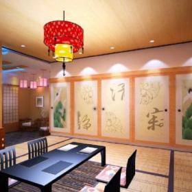 三居室现代风格餐厅榻榻米_榻榻米地台餐厅