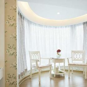 客厅卧室室内地台装修设计图片效果图