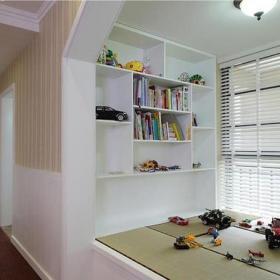 家装书房榻榻米地台装修效果图大全效果图