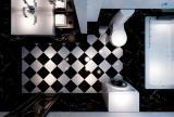 卫浴柜柜玄关柜浴缸浴室新古典风格卫生间装修效果图新古典风格面盆图片
