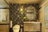 业之峰装饰_139㎡-新古典风格卫生间室内设计效果图