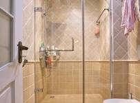 ID城市空间新古典风格二居室古典米色富裕型卫生间灯具图片效果图