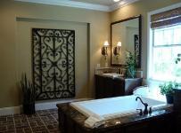 新古典风格三居室卫生间吊顶装修图片效果图