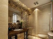 欧式新古典风格四居室卫生间吊顶装修效果图大全