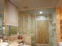 新古典风格三居室卫生间背景墙装修效果图欣赏