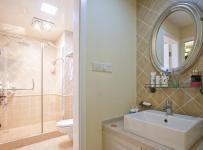 ID城市空间新古典风格二居室古典米色富裕型卫生间?#35789;?#21488;图片效果图