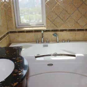 新古典風格三居室衛生間屏風裝修效果圖大全