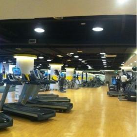 健身房全钢防静电地板图片效果图