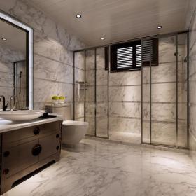 新古典风格别墅卫生间墙面装修效果图新古典风格浴室柜图片