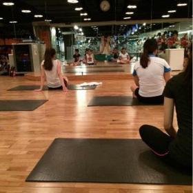 健身房全钢防静电地板效果图