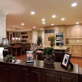 新古典风格客厅新古典卫生间富裕型2013家装厨房效果图