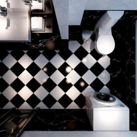 衛浴柜柜玄關柜浴缸浴室新古典風格衛生間裝修效果圖新古典風格面盆圖片