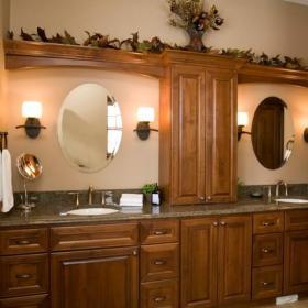 歐式風格家具三層平頂別墅新古典衛生間2平米小衛生間效果圖