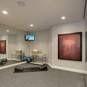 30平米室內健身房裝修效果圖
