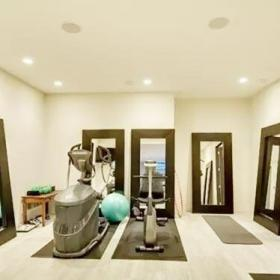 休闲家居时尚大气健身房装修效果图