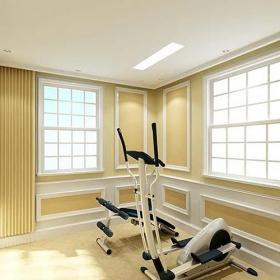 工作區儲藏室地下室美式健身房圖片效果圖