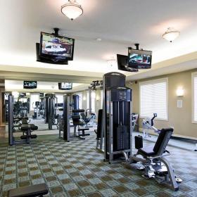120平米健身房装修效果图