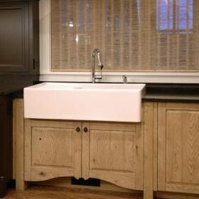 新古典风格三层双拼别墅新古典卫生间收纳柜效果图