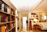 客厅变书房效果图