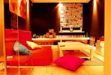 130㎡复式楼现代简约风格阁楼书房装修效果图现代简约风格休闲沙发图片