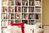 110㎡吊顶书柜美式三居书房沙发尽情遨游在知识的海洋装修效果图