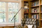 實木家具歐式大戶型書房書柜簡單家具有著超強的收納功能效果圖