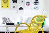 现代书桌100㎡专属女人气质的创意书房设计图装修效果图