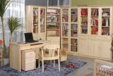 书房松木家具效果图