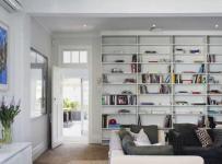 大气温馨简约风格别墅实用开放式书房效果图