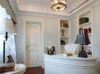 西式古典三居室書房儲物柜裝修圖片效果圖大全