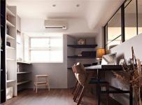 新古典風格三居室書房儲物柜裝修效果圖大全