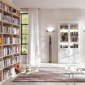 小書房現代風格書房展示柜圖片裝修效果圖