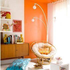 書房溫馨舒適的書房裝飾效果圖