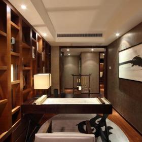 中式书房中式风格书房装修图中式风格书柜图片效果图欣赏