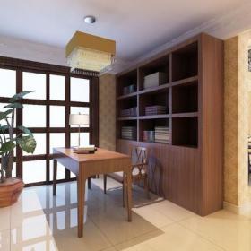 吊頂中式書房中式風格書房裝修效果圖